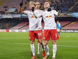 Leipzig stößt das Tor weit auf - Atletico in Torlaune