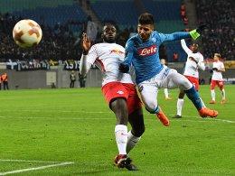 Trotz 0:2 gegen Napoli - Leipzig steht im Achtelfinale!