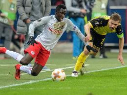 0:0 in Salzburg: Dortmund verabschiedet sich aus Europa