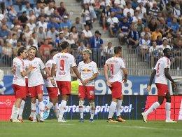 1:1 in Craiova: RB Leipzig erreicht die Play-offs