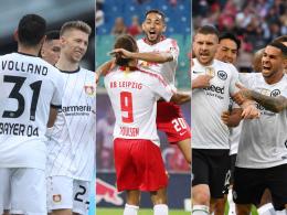 Leverkusen im ersten, Frankfurt im dritten Topf