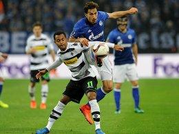 1:1! Schalke im Pech, Vorteil Gladbach