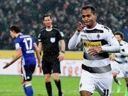 Raffael fit für das Highlight gegen Schalke