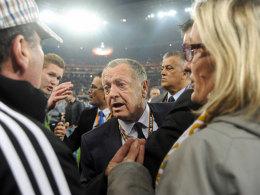 Lyon-Boss Aulas fordert Rückspiel ohne Zuschauer