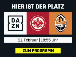 Kommen Frankfurt und Leverkusen weiter? Europa League live bei DAZN