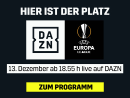 Bundesliga-Trio unterwegs: Die Europa League live bei DAZN