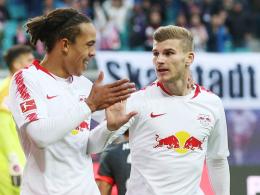 RB Leipzig hebt ohne Werner und Poulsen ab