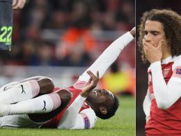 Welbecks Horror-Verletzung überschattet Arsenal-Spiel