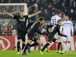 Makellose Frankfurter feiern auch bei Lazio