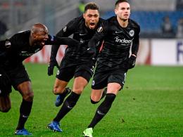 Rekord: Frankfurt gelingt die perfekte Europa-League-Vorrunde