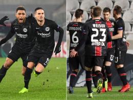 Die möglichen Gegner von Frankfurt und Leverkusen