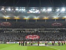 Eintracht meldet ausverkauft bis ins Halbfinale!