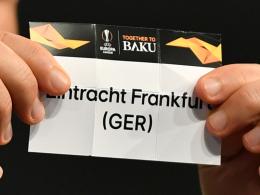 Frankfurts Europa-Reise geht gegen Inter Mailand weiter