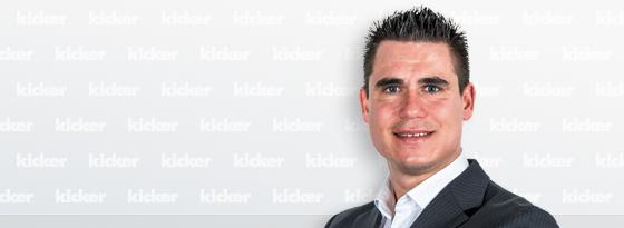 kicker-Reporter Julian Franzke