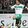 Bremens Pizarro �berspringt Handanovic.