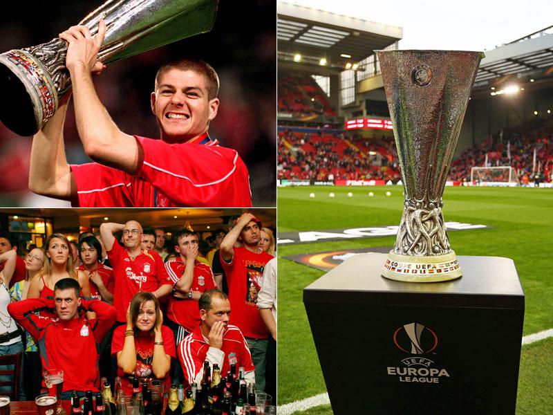 Steven Gerrard ist nicht mehr dabei, die Erinnerungen an denkwürdige Finalnächten sind geblieben.