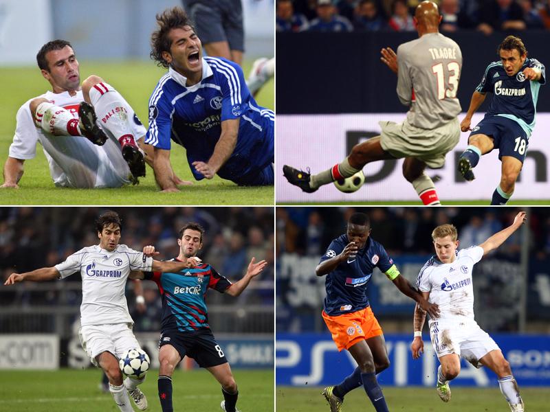 Schalkes Bilanz gegen französische Klubs