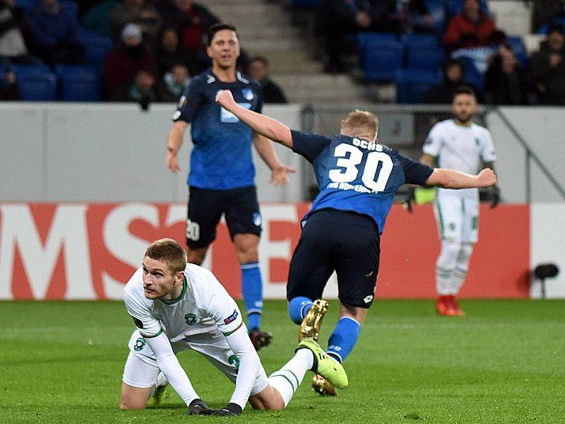 Hoffenheim verabschiedet sich mit Remis