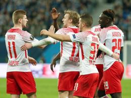 Augustin beschert Leipzig das Viertelfinale