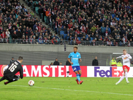 Werner verschafft Leipzig eine gute Position