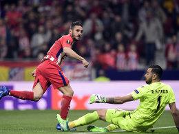 Koke stellt nach 23 Sekunden die Weichen für Atletico