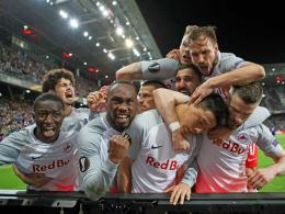 Drei Tore in vier Minuten! Salzburg im Halbfinale