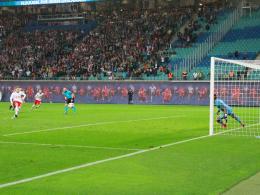 Last-Minute-Elfmeter rettet Leipzig die Gruppenphase