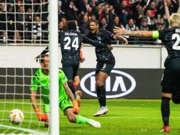 Frankfurter Feiertag: Eintracht düpiert Lazio