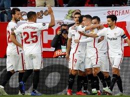 Zwei Tore und zweimal Rot: Sevilla bezwingt Lazio