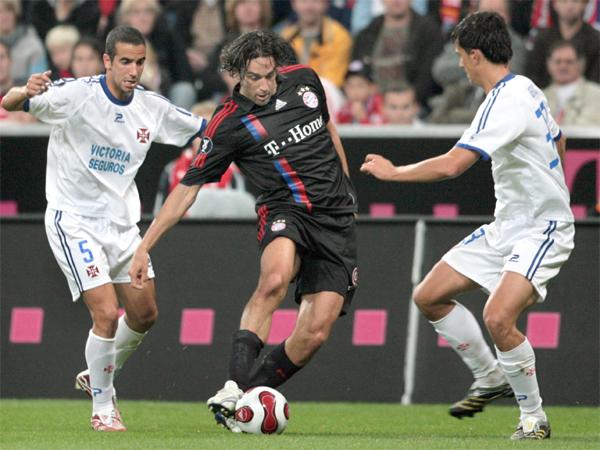 Matchwinner: Luca Toni traf gegen Belenenses Lissabon einmal - das war der Sieg.