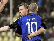 Ivica Olic und Mladen Petric
