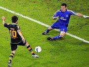 Diego trifft zum 1:1.