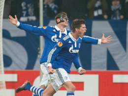 Huntelaar, Höwedes (FC Schalke 04)