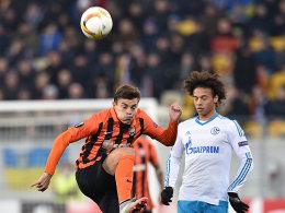 Vorne zu nachl�ssig: Schalke nur Remis