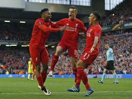 Sturridge und Firmino f�hren Liverpool ins Finale
