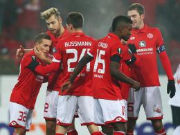 Mainz verabschiedet sich mit Sieg aus der Europa League