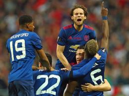Pogba und Mkhitaryan schießen United zum Titel