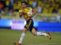 Eigentlich der große Hoffnungsträger Kolumbiens, aber dann riss das Kreuzband: Radamel Falcao.