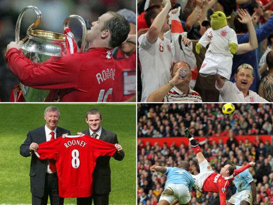 Wayne Rooneys Karriere in Bildern