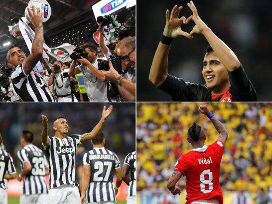 Die Seele im chilenischen Spiel, ein unentbehrlicher Baustein bei Juventus: Arturo Vidal.