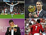 Er sammelt Rekord über Rekord: Ob bei Manchester United, Real Madrid, in der Champions League oder als Einzelspieler: Cristiano Ronaldo.