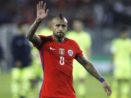 Vidal führt Chiles Starensemble an