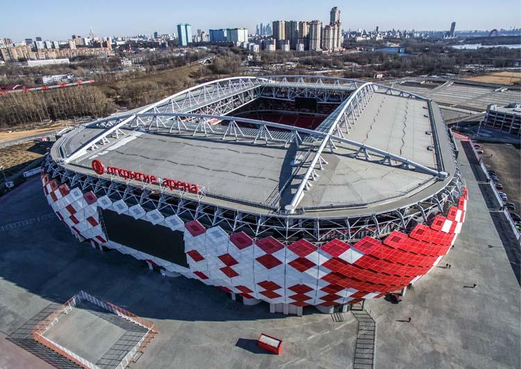 Confed Cup 2017: Die Spielstätten