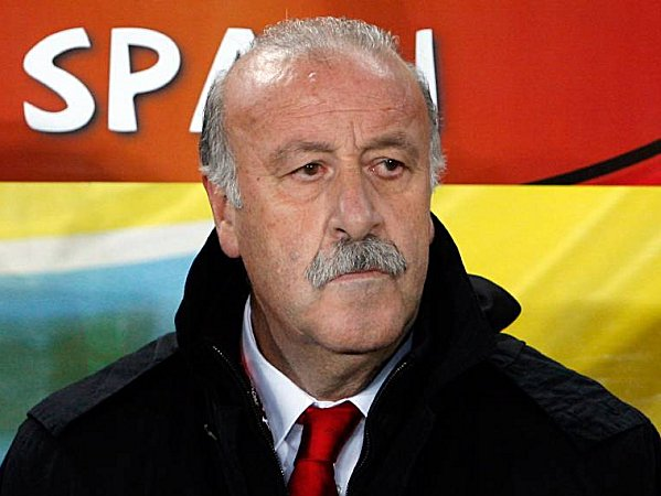 """Erwartet einen """"extrem harten Gegner"""": Spaniens Trainer Vicente del Bosque."""