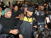 Felipe Melo bei der Ankunft in Rio de Janeiro