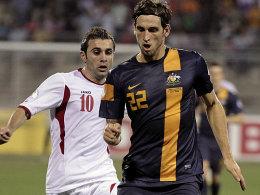 Ahmed Hayel gegen Matthew Spiranovic