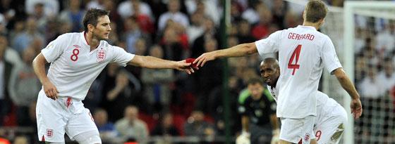Frank Lampard und Steven Gerrard