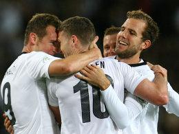Geschafft: Neuseeland hat in den Play-Offs die Chance auf eine erneute WM-Teilnahme.