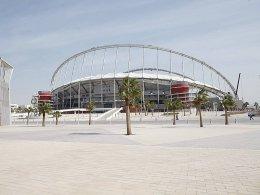 Im Sommer zu heiß für Fußball: In Katar könnten die WM-Spiele im Winter ausgetragen werden.