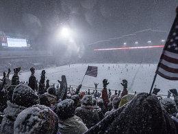 Der Protest kam zu spät: Die USA gewinnen das Schneespiel von Denver.